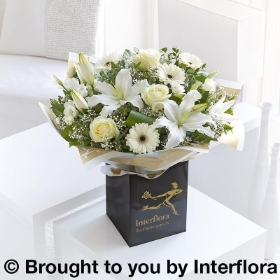 White Radiance Sympathy Hand tied