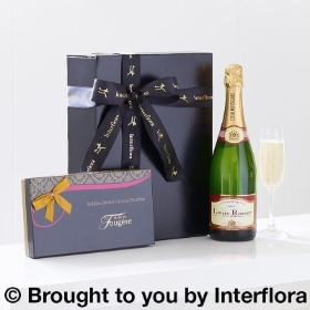 Champagne and Salted Caramel Truffles Gift Set