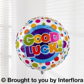 Good Luck Helium Balloon