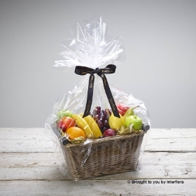 Fruit Basket with Belgian Chocolates
