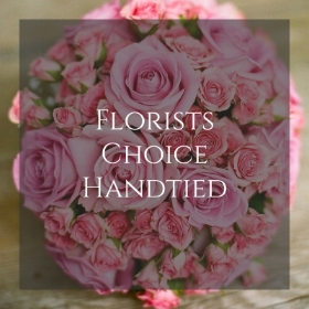 Florists Choice Handtied in water