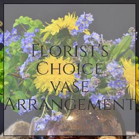 Florists Choice vase Arrangement